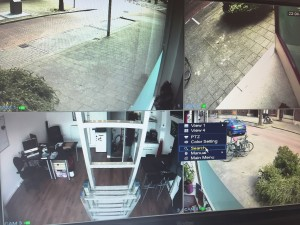 camera bewaking systeem usb uitlezen